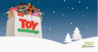 2. The Barnardos and Argos Toy Exchange campaign 2013