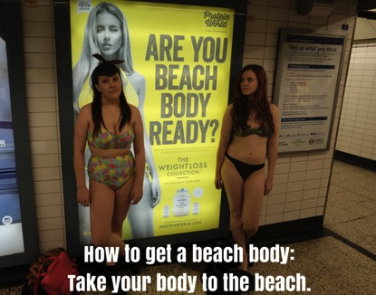 Beach body photo blog